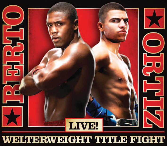 Berto boxing poster