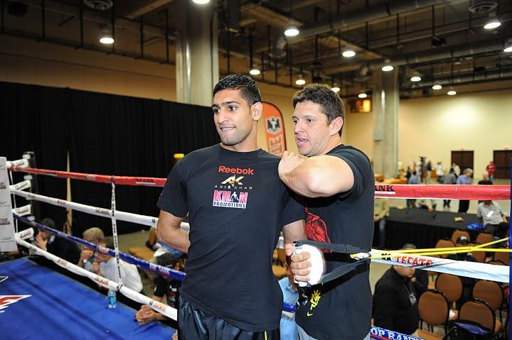 Video: Amir Khan and Alex Ariza workout on 31/5 – plyometric