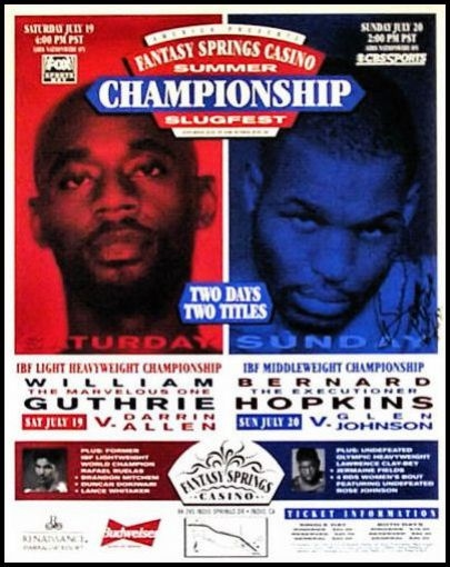 bernard hopkins belts. Hopkins made his fifth defence