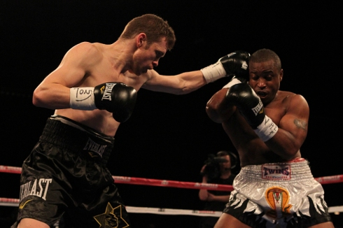 Foreman secured victory atop the card. Credit: Ed Diller/DBE